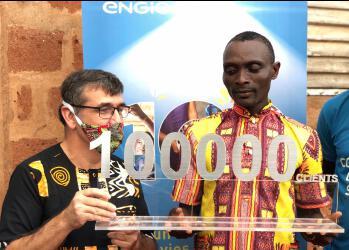 ENGIEEnergy Access celebrates 100,000 customers in Benin